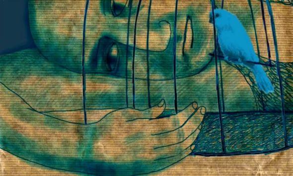 métaphore l'oiseau bleu intérieur métaphore de nos désirs