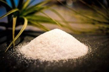 Photo de Thomas Hartmann montrant un tas de sel iodé ou dit chlorure de sodium