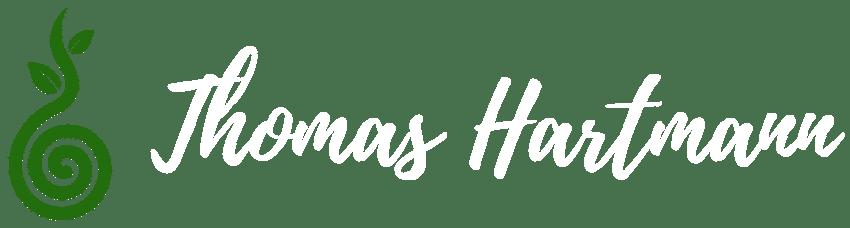 Logo blanc de Thomas Hartmann hypnothérapeute en hypnose Ericksonienne thérapeutique et naturopathe à strasbourg
