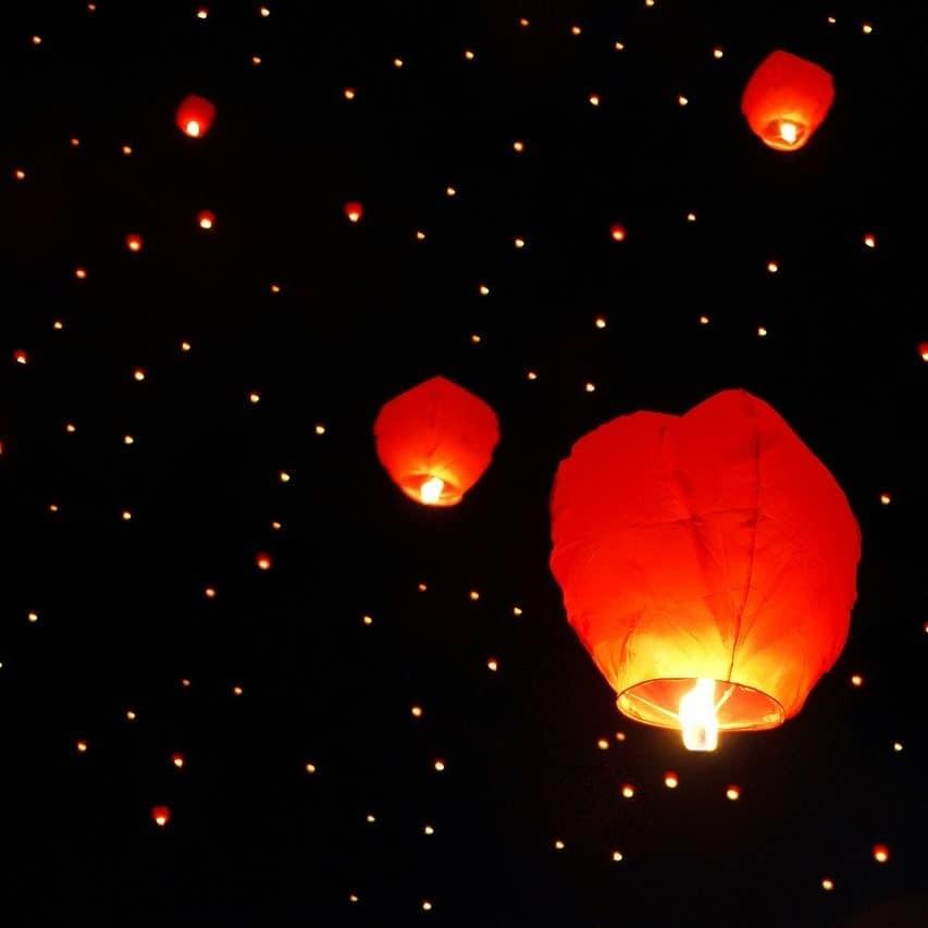 lanterne symbole d'espoir